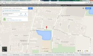 Google Maps Garten