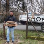 Holz für den Garten