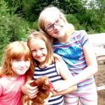 Beste Freundinnen Hühner