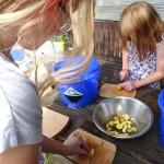 Schnippelparty  Gartenküche