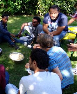 Gemeinsam Gärtnern für ein Miteinander - Gärtnern als Integrationshilfe