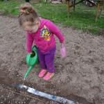 Kinder gärtnern