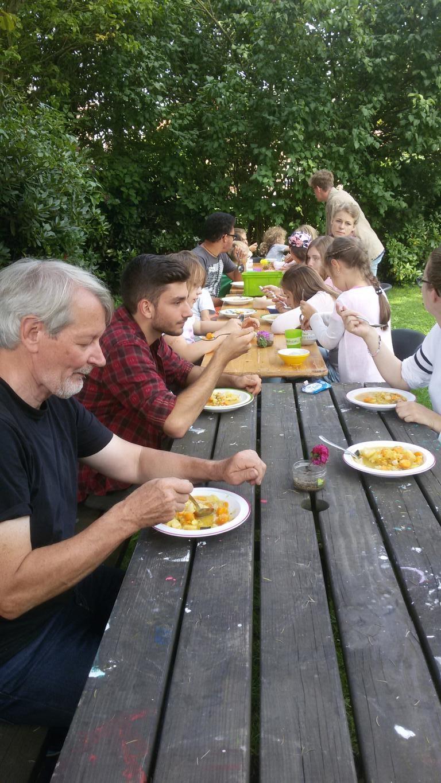 AF gemeinsam essen