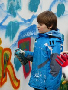 Kulturucksack Graffiti in den Osterferien