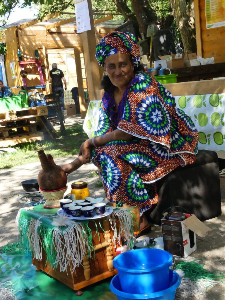 Kaffeezubereitung aus Eritrea
