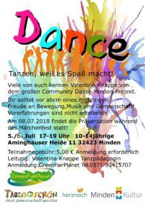 Dance –  Tanzen, weil es Spaß macht
