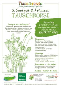 3. Saatgut- und Pflanzentauschbörse