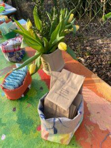 Tauschrausch am Gartenzaun